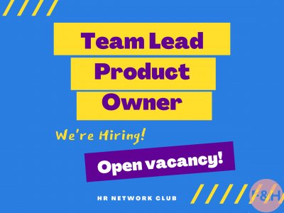 Team Lead Product Owner